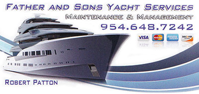 Father & Sons Yacht Services